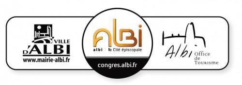 logo Ville - albi congrès - office de tourisme